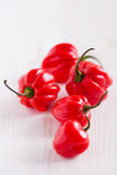 Poivrons de piment rouge Photographie stock