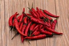 Poivrons de piments secs Image stock
