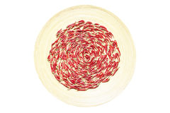 Poivrons de /poivron d'un rouge ardent Image stock