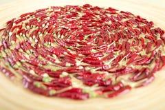 Poivrons de /poivron d'un rouge ardent Image libre de droits