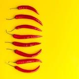Poivrons de /poivron rouge Images libres de droits