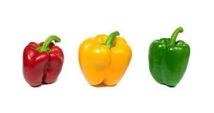 Poivrons frais colorés Image libre de droits