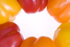 Poivrons mélangés Photographie stock libre de droits