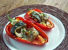 Poivrons Piedmontese - images stock