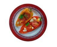 Poivrons rôtis Piedmontese photos stock