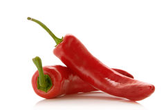 Poivrons rouges Image stock