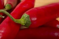Poivrons rouges Photo libre de droits