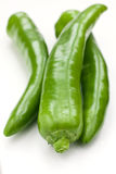 Poivrons verts Images stock