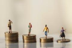 Pojęcie emerytura pieniądze plan i oszczędzania wzrostowi zdjęcie royalty free