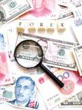 pojęć rynek walutowy Fotografia Stock