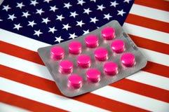 pojęcia środek farmaceutyczny Zdjęcia Stock