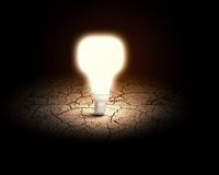 pojęcia żarówki pomysł ilustracji światła wektora Obraz Royalty Free
