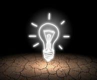 pojęcia żarówki pomysł ilustracji światła wektora Zdjęcie Royalty Free