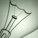 pojęcia żarówki pomysł ilustracji światła wektora ilustracja 3 d ilustracja wektor