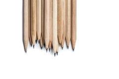 Pojęcia abstrakcjonistyczny tło od ołówków z przestrzenią dla teksta lub Obraz Stock