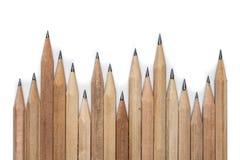 Pojęcia abstrakcjonistyczny tło od ołówków z przestrzenią dla teksta lub Obrazy Stock
