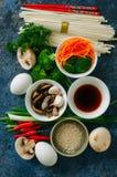 pojęcia azjatykci jedzenie kuchnia azjatykci składniki Warzywa, m Zdjęcie Royalty Free