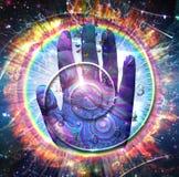 pojęcia bóg ręki duchowość zdjęcie royalty free