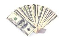 pojęcia dolarów pieniężna kłódki ochrona Obrazy Royalty Free