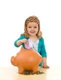 pojęcia edukaci pieniężni oszczędzania Zdjęcia Royalty Free
