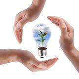 pojęcia energii zieleń Obrazy Stock
