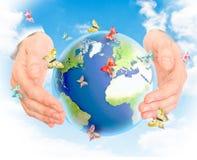 pojęcia energii zieleń Zdjęcia Royalty Free