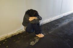 pojęcia fotografii gwałt Obrazy Stock