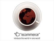 pojęcia handel elektroniczny royalty ilustracja