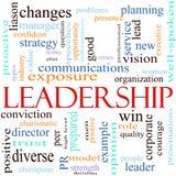 pojęcia ilustracyjny przywódctwo słowo ilustracja wektor