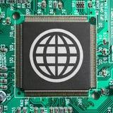 pojęcia internetów sieci świat Zdjęcia Stock