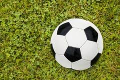pojęcia kąta pola futbolowe trawy zielone liny Obraz Royalty Free