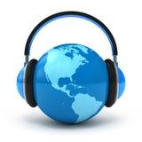 pojęcia muzyki świat Zdjęcie Stock