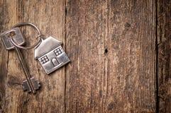 pojęcia nieruchomości domu klucza real Fotografia Royalty Free