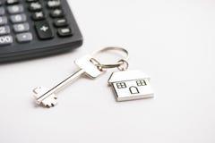 pojęcia nieruchomości domu klucza real Obrazy Stock