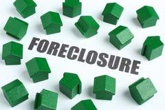 pojęcia nieruchomości foreclosure real Zdjęcia Royalty Free