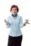 pojęcia nieruchomości kredyta mieszkaniowy nowy real twój Zdjęcia Stock