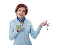 pojęcia nieruchomości kredyta mieszkaniowy nowy real twój Obrazy Royalty Free