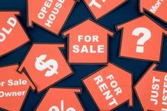pojęcia nieruchomości real Zdjęcie Royalty Free