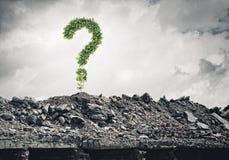 pojęcia o nzp często odizolowany pytanie spory white Obraz Stock