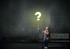pojęcia o nzp często odizolowany pytanie spory white Obraz Royalty Free