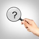 pojęcia o nzp często odizolowany pytanie spory white Fotografia Royalty Free