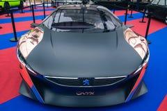 Pojęcia Peugeot samochodowy onyks zdjęcie royalty free