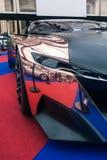 Pojęcia Peugeot samochodowy onyks obrazy stock