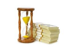 pojęcia pieniądze czas zdjęcie royalty free
