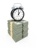 pojęcia pieniądze czas Obrazy Stock