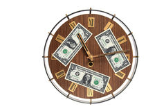 pojęcia pieniądze czas Obraz Royalty Free