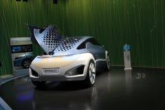 pojęcia Renault ze Zoe Obrazy Stock