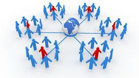 pojęcia sieci socjalny ilustracji