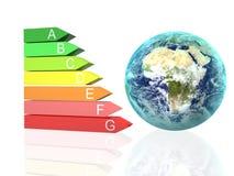 pojęcia wydajności energia ilustracja wektor