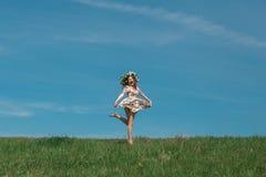 pojęcia zielony wiosna kobiety kolor żółty Zdjęcia Royalty Free